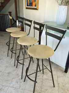 Industrial grade Bar stools. Made in Canada.