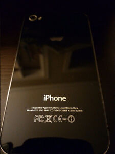 iPhone 4 16GB (Fido), black, excellent state