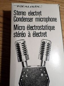 Vintage Realistic Stereo Microphone (VIEW OTHER ADS) Kitchener / Waterloo Kitchener Area image 2