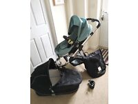 I candy apple with carrycot