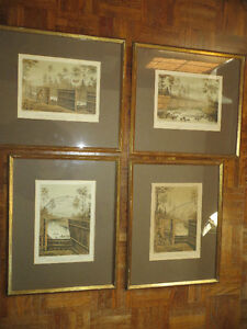 British Decoy set vintage litho / 1886 - RALPH PAYNE-GALWEY London Ontario image 2