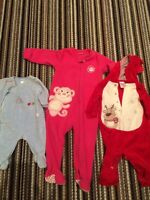 Newborn to 6 years old baby clothing