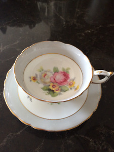 English Cups and Saucers