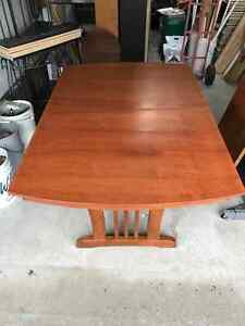 Solid Wood Dinning table & 8 chairs