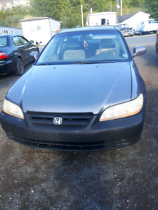 2001 Honda accord for Sale with winter tires