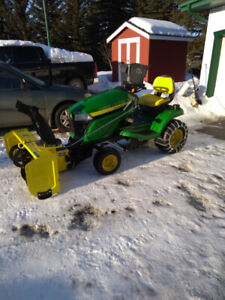 John Deere Lawn Tractor and Snowblower