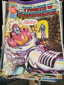 Marvel Transformers comics