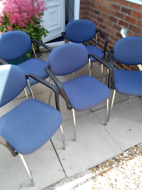 RECEPTION STACKING CHAIRS