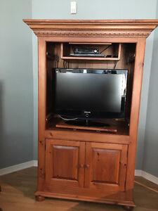 Armoire Telivision en bois