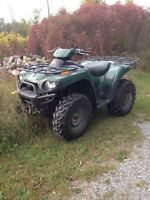 2007 Kawasaki Brute Force With Plow!!