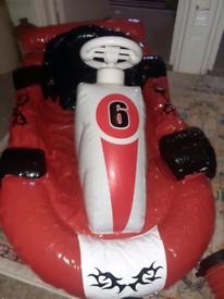 Wii Mario Kart Inflatable Car