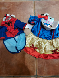 Small dog dress up outfits x 2