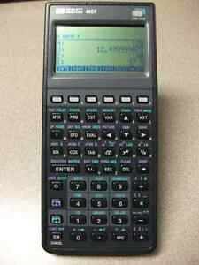HP 48GX Calculator