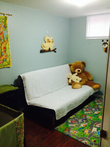 Large Bright One Bedroom Basement Apartment
