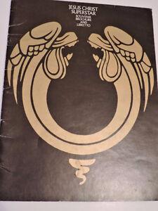 Jesus Christ Superstar Souvenir Brochure and Libretto