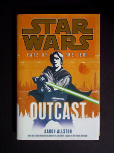 STAR WARS Fate of the Jedi: Outcast - 1st Ed. Hardcover