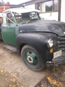 1953 chev tow truck