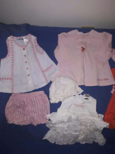 Calvin Klein Baby Girl Spring/Summer Dress Outfits Size 3/6mts