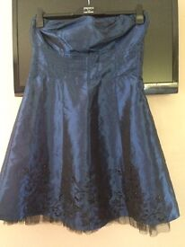 Midnight Blue Party Dress Size 14