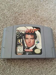 007 Goldeneye for N64