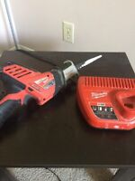Milwaukee M12 Hackzall w/ Charger