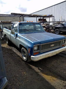 C10 Chevrolet. Runs and drives. 350 4spd