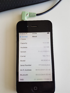 IPhone 4 16GB Fido Perfect condition