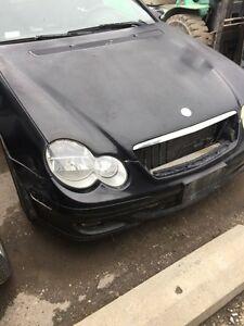 2002-2008 MERCEDES-BENZ C230 KOMPRESSOR COUPE USED PARTS