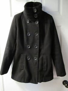 Black european winter coat Small/X-Small