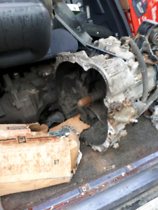 97 rav4 transmission with new clutch