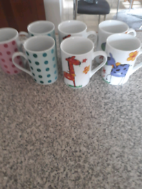 Selection of un used mugs