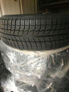 Michelin Winter Tires 205/60R16 and Steel Alloy Wheels