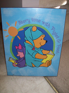 Winnie the Pooh wall picture