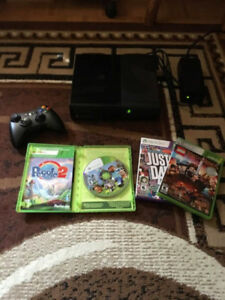 Xbox 360 4GB Value Console Bundle with  3 FREE games.