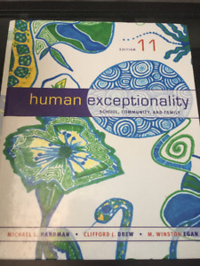 Human Exceptionality (11 ed.)
