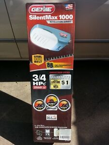New Never Open - Genie SilentMax 1000 Garage Door Opener