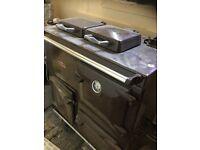 Oil fired range cooker