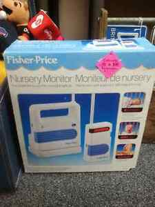 Vintage 1989 Fisher Price Model 1510 Nursery Monitor Prince George British Columbia image 1