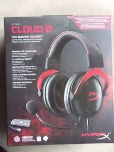 Kingston Hyperx Cloud II 7.1 surround sound gaming headset
