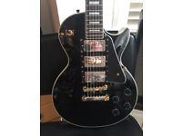Les Paul Black Beauty Electric Guitar