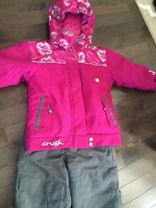 Like New Girls Size 5 Snow Suit