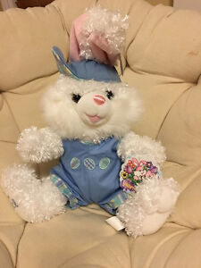 Stuffed Easter Bunny Rabbit Toy Hoppy Hopster Plush - 50 cm Tall