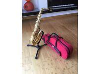 Prelude Conn-Selmer Alto Saxophone and Gator Case