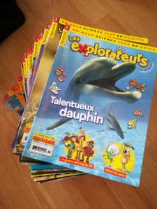 """Revues/magazines """"Les explorateurs"""""""