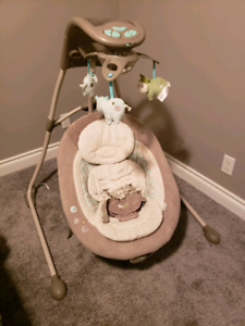 Ingenuity inlighten baby swing