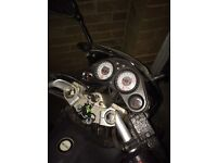 Skyjet 125cc motorcycle, £850, great condition, low mileage, new MOT, UK ONLY!!