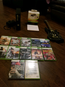 Xbox 360 S + lots of games, modded controller, ...