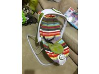 Mama papa baby bouncer very clean