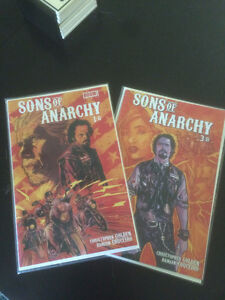 Sons of Anarchy Comic Book tome 1 et 3 (Anglais)