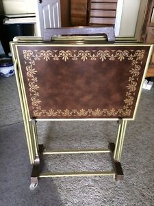 TV trays - immaculate condition